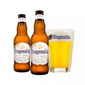 Kit Hoegaarden 2 Cervejas Hoegaarden Wit 330ml + Copo 250ml