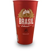 Copo Brahma Brasil N° 1 - 250ml
