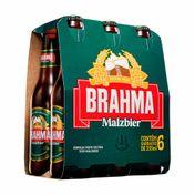 Cerveja Brahma Malzbier 355ml Pack (6 Unidades)