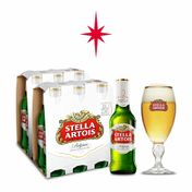 Kit Stella Artois 2 Packs (12 Unidades) + Cálice