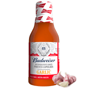 Molho de Pimenta Lúpulado Budweiser Garlic 210ml