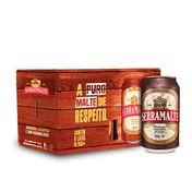 Cerveja Serramalte 350ml Caixa (6 Unidades)