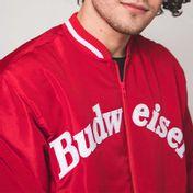 Jaqueta Budweiser College Vermelha