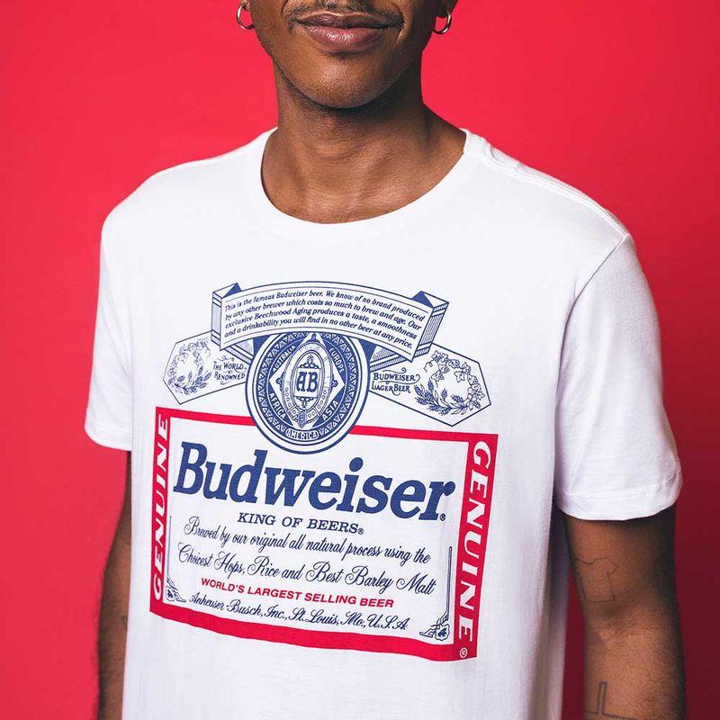 camiseta-budweiser-branca