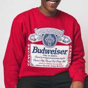 Blusa Moletom Budweiser