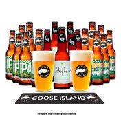 Kit Goose Island Completo (18 Cervejas + 2 Copos + 1 Barmat)