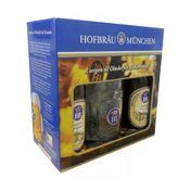 Kit Cerveja Original Hofbräu München 2 Garrafas 500ml + 1 Caneca 500ml
