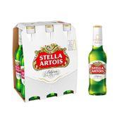 Cerveja Stella Artois 330ml Pack (6 unidades)