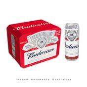 Cerveja Budweiser 410ml Pack (12 unidades)