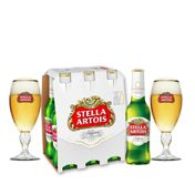 Kit Stella (1 pack 330ml + 2 Cálices)