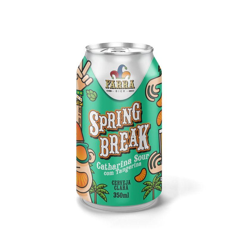 Cerveja-Farra-Bier-Spring-Break-Catharina-Sour-com-Tangerina-350ml