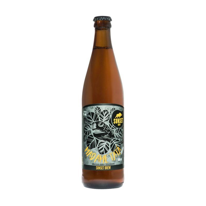 Cerveja-Sunset-Brew-Madame-Tata-Saison-500ml