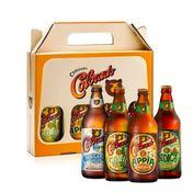 Kit Presente Colorado Appia + Cauim + Indica + Ribeirão Lager 600ml