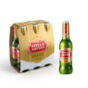 Cerveja Stella Artois sem Glúten 330ml - Pack (6 Unidades)