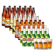Super Kit Cervejas Clássicas (48 unidades) + 4 Copos Empório da Cerveja 350ml
