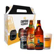 Kit Presente Cervejas Especiais com Copo