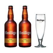 Kit Cerveja Heilige Pilsen Com Copo
