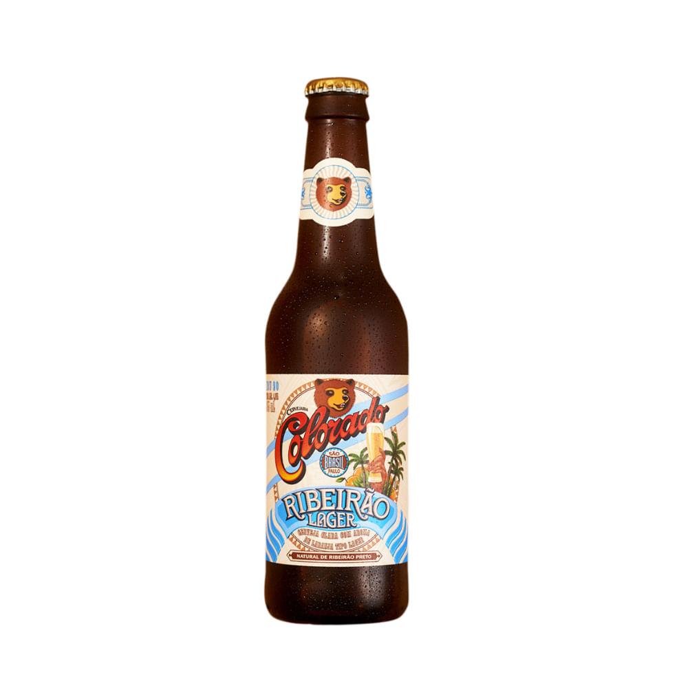 [Frete Grátis] 1 Unidade Cerveja Ribeirão Lager 355ml Grátis