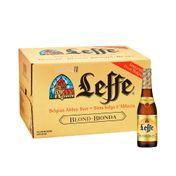 Cerveja Leffe Blonde 330ml Caixa com 24 unidades