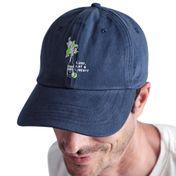 Boné Azul Dad Hat Corona + S.A.L Garopaba