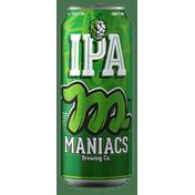 Cerveja Maniacs Ipa 473 Ml