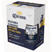 Kit Corona (4 Cervejas Corona 330ml + Copo)