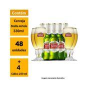 Mega Kit Stella Artois (48 Cervejas + 4 Cálices)
