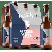 Cerveja Wäls Session Free 355ml (6 unidades)
