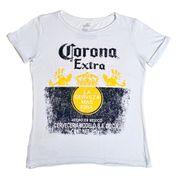 Camiseta Corona Beer Branca