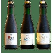 Kit Wäls Restaurantes (1 Wäls Blanc 375ml + 1 Wäls Mediterrânea 375ml + 1 Wäls Sorachi 375ml)