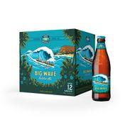 Cerveja Kona Big Wave Golden Ale 355ml - Caixa com 12 Unidades
