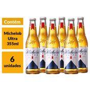 Pack Cerveja Michelob Ultra 355ml (6 unidades)