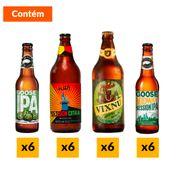 Kit Cervejas IPA (24 Unidades)