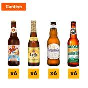 Kit Cervejas Best Sellers (24 Unidades)