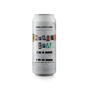Cerveja Three Monkeys Charade IPA 473ml