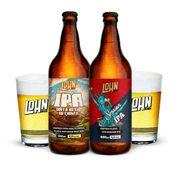 Kit Lohn Bier (1 cerveja IPA + 1 cerveja Session IPA + 2 copos )