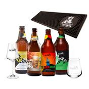 Kit Wals (4 cervejas + 1 Taça + 1 Copo + Barmat)