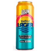 Cerveja Lohn Unfiltered Lager 473Ml