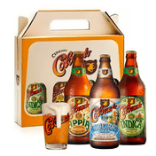 Kit Presente Colorado Ribeirão Lager, Appia e Indica + 1 Copo Oficial