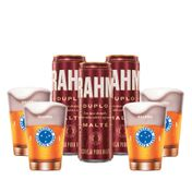 Kit Brahma Cruzeiro 4 calderetas + 3 cervejas GRÁTIS