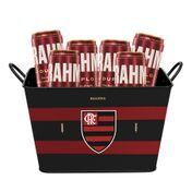 Kit Brahma Balde Flamengo + 6 cervejas GRÁTIS