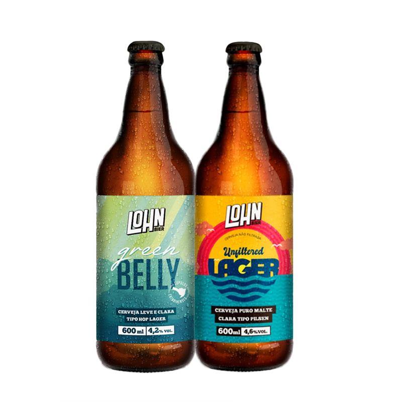 4-Kit-Lohn-Bier-Unfiltered-600ml---Green-Belly-600ml
