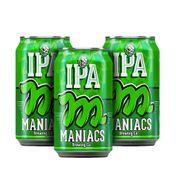 Kit Maniacs IPA Lata 350ml (3 unidades)