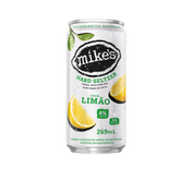 Mikes Hard Seltzer Limão 269ml