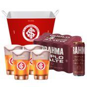 Kit Brahma Super Torcedor Internacional (Balde + 4 calderetas + 12 cervejas GRÁTIS)