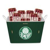 Kit Brahma Balde Palmeiras + 6 cervejas GRÁTIS
