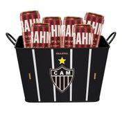 Kit Brahma Balde Atlético Mineiro + 6 cervejas GRÁTIS