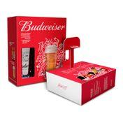 Kit Budweiser Basquete (2 Budweiser 330ml + 1 Copo 410ml)