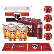 Kit Brahma Torcedor de Carteirinha São Paulo + 12 cervejas GRÁTIS