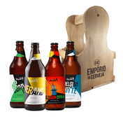 Kit Presente Wäls + Engradado Empório da Cerveja